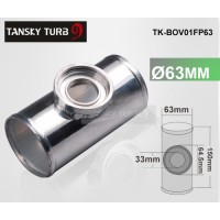"63MM 2.5"" NEW  SSQV / BLOW OFF VALVE / BOV TURBO T-PIPE/PIPING ADAPTOR FLANGE TK-BOV01FP63"