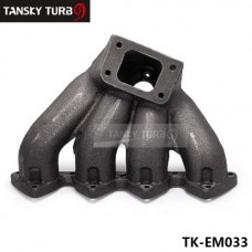 Tansky - Top Mount T3 Turbo Manifold Exhaust Header For B-Series 88-00 Civic 94-01 Integra TK-EM033