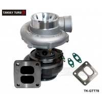TANSKY - T78 T4 twin scroll turbo charger V band  For Racing car Horsepower: 500-1000HP With gaskets TK-GTT78