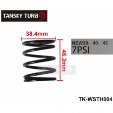 Tansky - 38MM 40MM 45MM TURBO EXTERNAL WASTEGATE WG SPRING COATED REPLACEMENT 7 PSI/7PSI 0.5BAR JUST FOR TURBO SMART TK-WSTH004