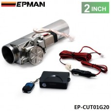 "EPMAN 2.0"" I Type Electric Exhaust Catback Downpipe E-Cutout Valve System Remote Kit EP-CUT01G20"
