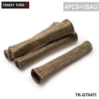 Tansky - Titanium 1800 Degree Spark Plug Ignition Wire Heat Boot Protector Cover 4 CYL TK-GT04TI