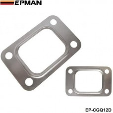 10PCl/LOT EPMAN T25 T28 GT25 GT28 GT2876 Turbo Turbine Exhaust Inlet Manifold Flange Gasket 304 Stainless Steel EP-CGQ12D