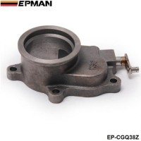 "EPMAN - T3/T4 T3 Turbocharger Turbo 5-Bolt 2.5"" V-Band Cast Iron Flange EP-CGQ38Z"