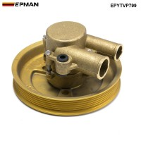 EPMAN Crank Mounted  Raw Water Sea Pump Fit Volvo Penta  21214599 3812693 3862482 4.3L 5.0L, 5.7L EPYTVP799