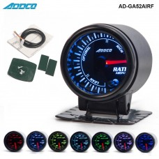 "Car Auto 12V 52mm/2"" 7 Colors Universal  Car Auto Air Fuel Ratio Gauge Meter LED With Holder AD-GA52AIRF"