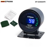 "New ! Epman Racing 2"" 52mm Digital Color Analog LED Air / Fuel Ratio Monitor Racing Gauge EP-GA50AIFR"