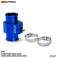 EPMAN Water Temp.Gauge Use a Commercial sensor attachment (26,28,30,32,34,36,38,40,42mm) Aluminum High Quality EP-WT