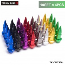 TANSKY- 10SET/Dozen Aluminium Alloy Spike Shape Car Tire Valves Accessories Valve Stem Cap TK-QMZ950-10T