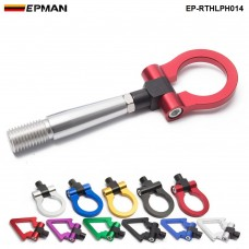 EPMAN Jdm Folding Ring Screw On Front Rear Bumper Tow Hook For Nissan 350Z 370Z GTR EP-RTHLPH014