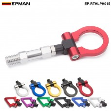 EPMAN  Car Eudm Model Trailer Hook Ring Eye Tow Towing Front Rear Aluminum For BMW F15 X5 EP-RTHLPH015