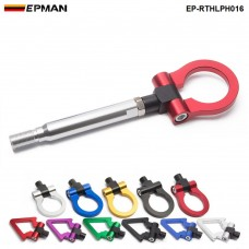 EPMAN  Car Sport Japan Model Trailer Tow Hook Ring Eye Towing Front Rear Aluminum For Subaru BRZ 2013-up EP-RTHLPH016