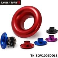 "TANSKY - 3"" Short RAM / Cold Air Compressor / Intake Inlet Velocity Stack / Turbo Horn Kit TK-BOV1009DDLB"