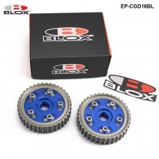 1 pair/unit Cam Gears Integra D16A SOHC for HONDA CIVIC (blue) EP-CGD16BL