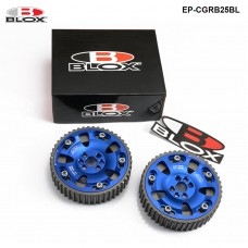 1 pair/unit BLOX CAM GEARS For NISSAN SKYLINE RB20DET RB25DET RB26 RB  (Blue) EP-CGRB25BL