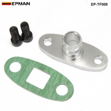 "EPMAN - 5/8"" Turbo Oil Drain Fitting Adapter T3 T3/T4 GT37 GT40 GT42 GT45 GT47 Turbocharge w/Bolt EP-TF009"