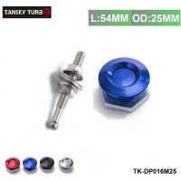 "TANSKY  -1"" Universal Aluminum Quick Latch Push Button Billet Hood Pins Lock Clip For VW Golf  TK-DP016M-25"
