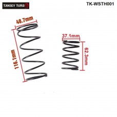 Tansky - 38MM TURBO EXTERNAL WASTEGATE WG SPRING COATED REPLACEMENT 14 PSI/8PSI 1BAR FOR TURBO SMART TK-WSTH001