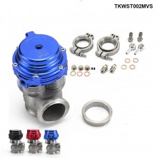 Tail MVS 38mm Wastegate Turbo Wastegate 37psi Waster-Cooling Capability (Red,Blue,Black) TKWST002MVS