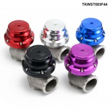 44mm Turbo Exhaust Manifold External V-Band Wastegate Dump Adapter 24PSI Turbo Waste gate TKWST003F44