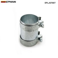"EPMAN - 2.75"" Exhaust Connector Coupler 304 SS Front Adapter Pipe Tube Joiner 70mm EPLJG70ST"