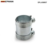 "EPMAN - 3.5"" Exhaust Connector Coupler 304 SS Front Adapter Pipe Tube Joiner 89mm EPLJG89ST"