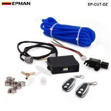 EPMAN - Electric Exhaust Cutout E-Cutout Controller with 2 Remotes EP-CUT-DZ