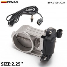 "EPMAN - 1pc 2.25""/57mm Exhaust Control Valve/ Exhaust Gas Recirculated For Exhaust Catback Downpipe  EP-CUT001A225"