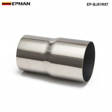 "EPMAN -OD:2"" 2.25'' 2.75'' 3'' 3.5'' Universal Exhaust Pipe to Component Adapter Reducer EP-BJ51R57"