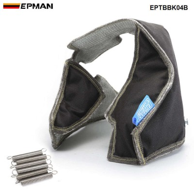 EPMAN K04 Exhaust Turbo Blanket Heat Shield Cover High Performance For K03 / K04 TURBO Turbo Charger EPTBBK04B