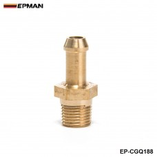 "EPMAN -Turbocharger Compressor Brass Boost Nipple Garrett T2 T25 T28 T3 T34 Turbo 1/8""Male NPT EP-CGQ188"