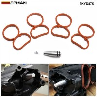 EPMAN Swirl Flap Flaps Plug Blank Removal Replacement With Gaskets Removal Repair Kit For BMW N47 2.0 D TKYD87K