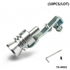 10pcs/lot Turbo Whistler/Turbo Sound L Size Of Universal Turbo Sound Whistler Muffler Exhaust Pipe (color box) TK-W002