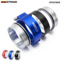 "EPMAN Quick Release Clamp Performance HD Clamp System Assembly For 3"" OD Throttle Body Intercooler Pipe Turbo Ect EPSS76KB"
