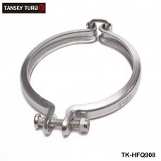 TANSKY - For Mitsubishi TD05 TD06 Turbocharger Turbo V-band Clamp Set 90.8mm TK-HFQ908