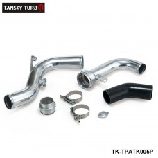 TANSKY - For Volkswagen VW Golf GTI MK5/MK6 2.0T Turbo Piping Kits/Aluminium Boost Pipe TK-TPATK005P