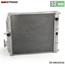 Car 1Row Full Aluminum Racing Radiator For Honda Civic MT EJ EK DEL SOL EG 92-00 EP-ARCIVIC32