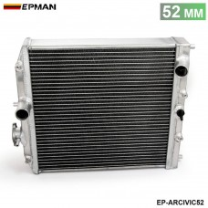 Car 3Row Full Aluminum Racing Radiator For Honda Civic MT EJ EK DEL SOL EG 92-00 52MM EP-ARCIVIC52