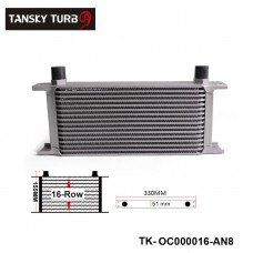 Hotsale: British Type 16-Row Engine Oil Cooler /(AN10/AN8) TK-OC000016