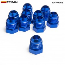 10pcl/unit Oil cooler fitting (blue,H Q) AN10-ONE