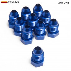 10pcl/unit Oil cooler fitting (BLUE,H Q) AN4-ONE